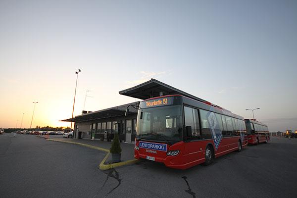 Bussi Lentokentälle